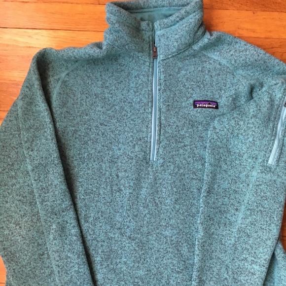 Patagonia Sweaters Womens Better Sweater 14zip Fleece Poshmark